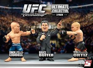 """Round 5: Exclusive UFC 3-Packs and New """"Live"""" Series"""