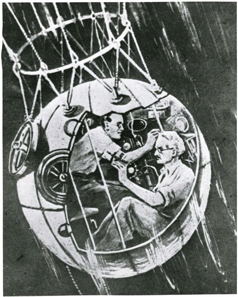 ballon si鑒e auguste piccard pioneers of flight