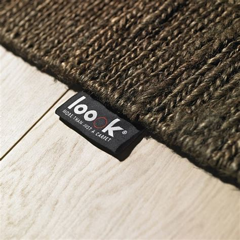 tapis chanvre tiss 233 224 plat marron fonc 233 601 loook