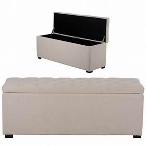 Banc Coffre De Rangement Conforama : banc de rangement blanc ~ Dailycaller-alerts.com Idées de Décoration