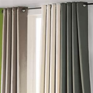Rideau Thermique été : rideau thermique anti chaleur rideaux rideaux stores ~ Premium-room.com Idées de Décoration