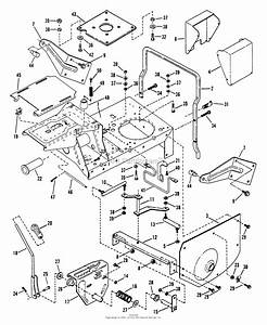 Snapper 280915be Rear Engine Rider Series 15 Parts Diagram For Main Case  Hinged Seat Mount