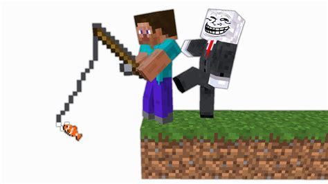 Troll Vs Minecraft #1 Youtube