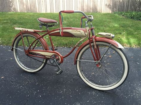 1950's Goodyear Double Eagle Tanker Bicycle *original