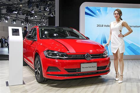 vw polo reaches asia launched  taiwan
