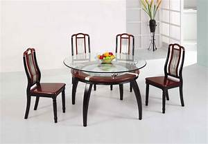 Wooden dining table set glass top table discount dining for Dining room sets with glass table tops