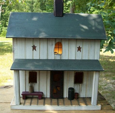 Primtive Birdhouse Primitive Farmhouse Amish