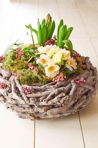 diy fruehlingskorb natuerlich dekoriert diy fruehlingsdeko