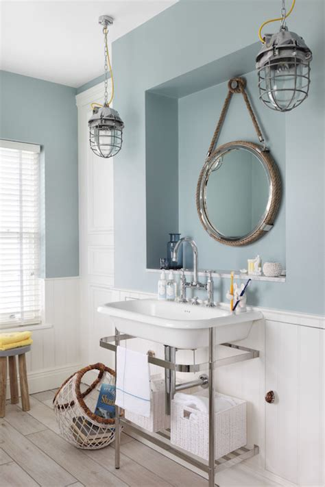 nautical bathroom mirror decor nautical style bathrooms cottage bathroom zoffany