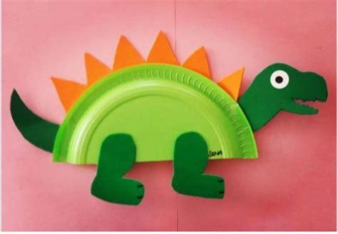 paper plate dinosaur craft ideas crafts and worksheets 607 | 45d08b7102628941d4e86f52c4ab238f