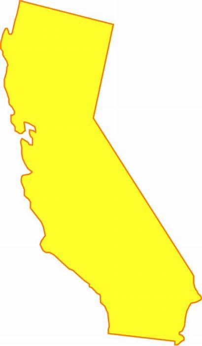 California Yellow Clip Clipart Cliparts Clker Vector