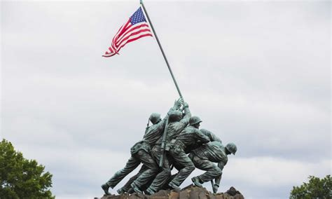 Marine Corps Admits Iwo Jima Marines Not Actually Raising