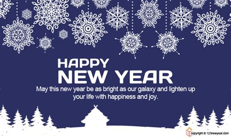 colorful  bright happy  year greeting cards