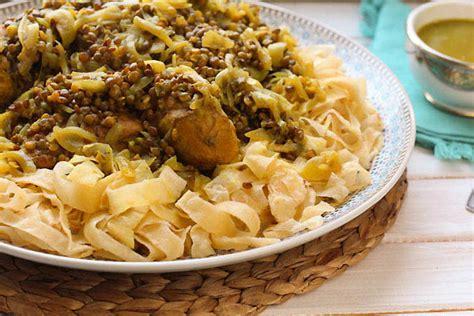 romarin cuisine rfissa au poulet recette de la cuisine marocaine
