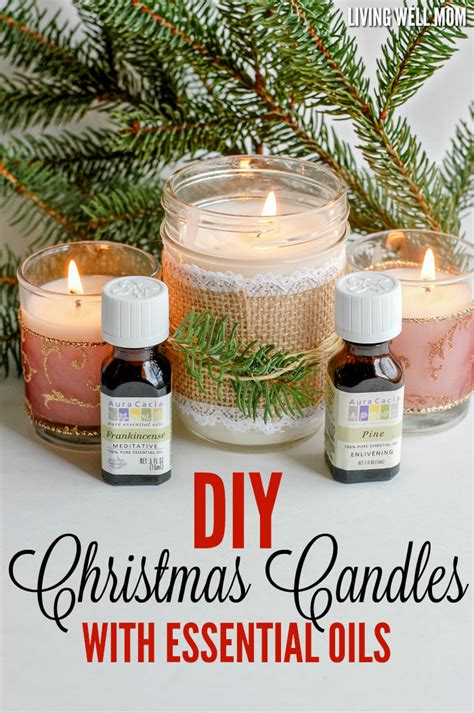 easy light desserts diy candles with essential oils