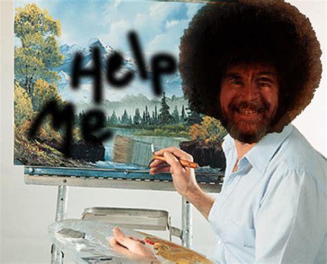 Bob Ross Memes Making A Comeback. Buy As A Temporary