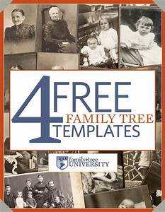 download our free genealogy e book 4 free family tree With ancestry book templates