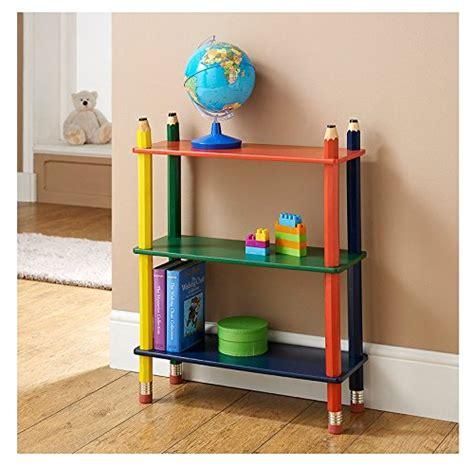meuble de rangement chambre à coucher bibliothèque pour enfant coloré de style crayon meuble de