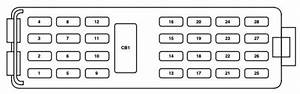 Mercury Mountaineer Third Generation  2005 - 2010  - Fuse Box Diagram