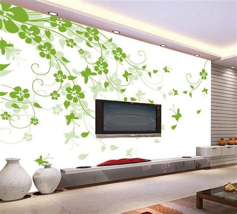 3d Wallpapers For Walls In Karachi by 3d Wallpaper Custom Photo Mural Non Woven Fresh Green