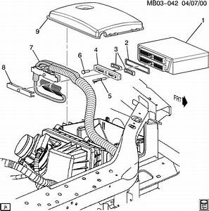 2006 Buick Terraza P C M  Module  U0026 Wiring Harness