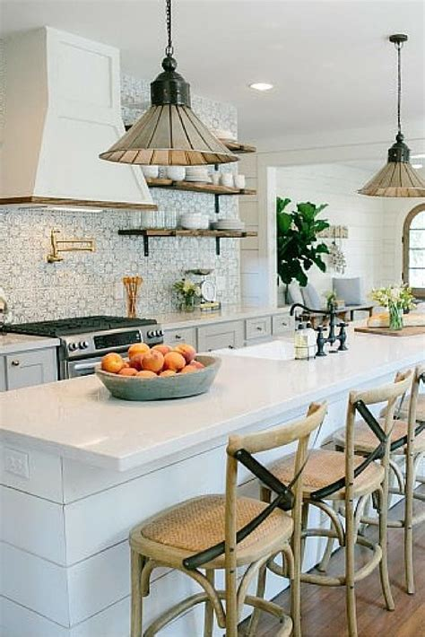 fixer upper kitchen ideas  pinterest colored