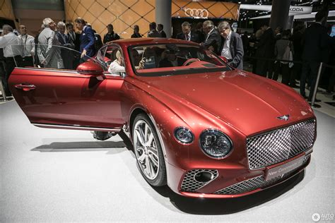 iaa 2017 bentley continental gt