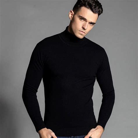 mens black sweater popular mens black turtleneck buy cheap mens