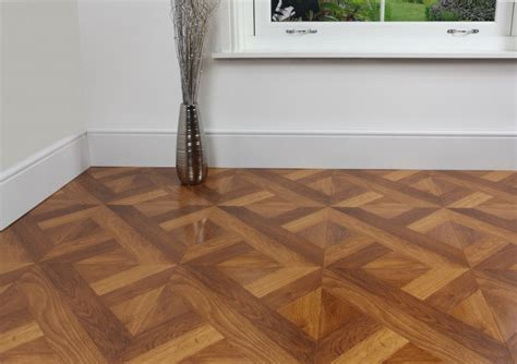 Heritage Cross Parquet Laminate Flooring