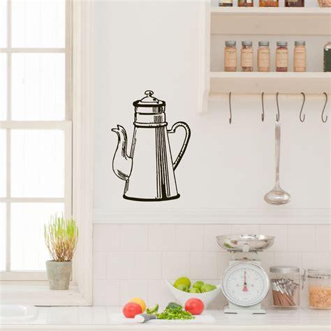 stickers pour la cuisine stickers muraux pour la cuisine sticker cafetière