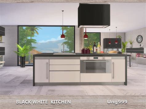 kitchen stove island ung999 39 s black white kitchen