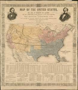 Slavery Missouri Compromise Map