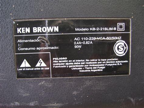 solucionado ken brown kb 2 21slim b psw29ut 3 audio yoreparo