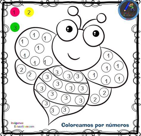 Fichas para colorear por letras números y símbolos (1