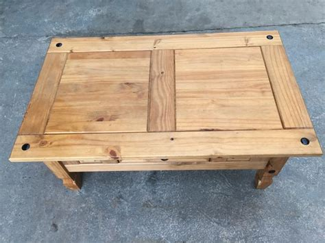 Coffee table makeover ideas, painted coffee table, refinishing coffee table ideas, painted coffee table ideas, refurbished coffee table, ideas for painting a coffee table. SOLID MEXICAN PINE WOOD COFFEE TABLE ~~ 3ft ~~ CAN DELIVER Brierley Hill, Dudley - MOBILE