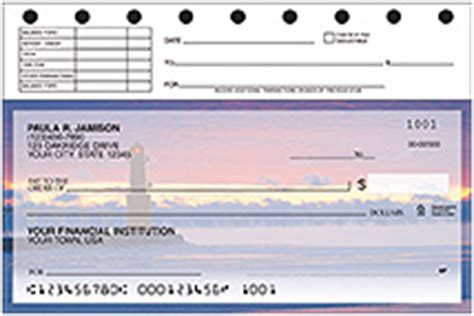 top stub personal checks american bank checks