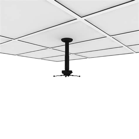 drop ceiling mount projector screen crimson adjustable height suspended ceiling projector kit