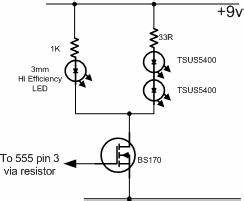 simple ir remote control extender circuit diagram With ir extender circuit