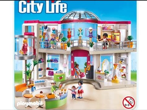 playmobil 2014 city le grand magasin shopping center 5485