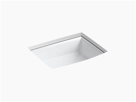 kohler archer rectangular undermount sink k 2355 archer undermount sink kohler