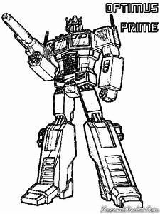 Mewarnai Robot Transformer