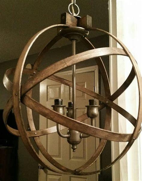 Wood Orbit Chandelier by Best 25 Orb Chandelier Ideas On Wayfair