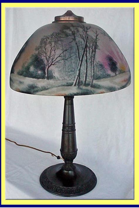 antique light painted l pittsburg for sale