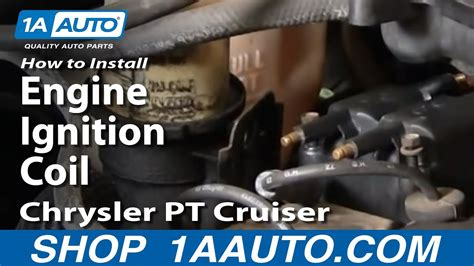 How Install Replace Engine Ignition Coil Chrysler