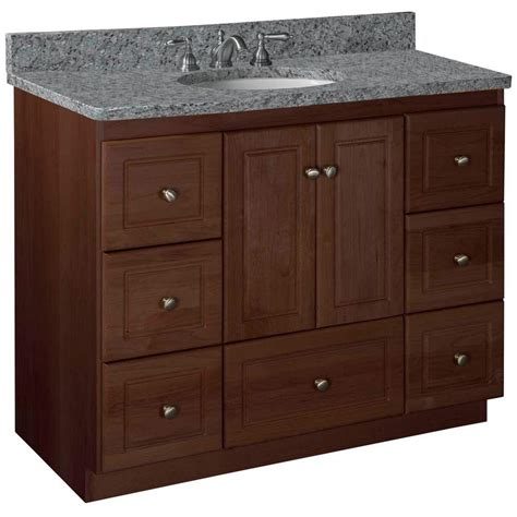 home depot bathroom vanities and cabinets simplicity by strasser ultraline 42 in w x 21 in d x 34