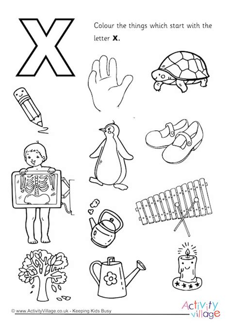 start with the letter x colouring page 651 | start with the letter x colouring page 460 2