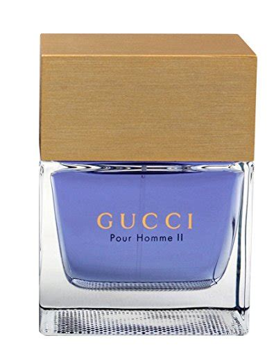gucci pour homme ii eau de toilette gucci pour homme ii by gucci for eau de toilette spray 3 3 oz perfume