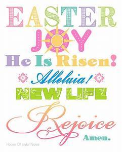 Easter Spiritual Printable | Happy Easter Y'all ...