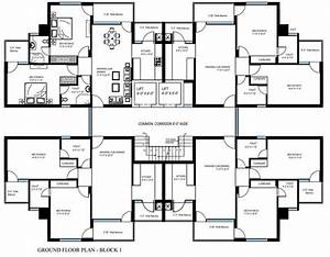 4 bedroom flat plan photos and video wylielauderhousecom With plan of four bedroom flat