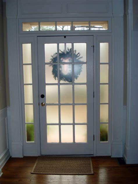 frosted glass spray  krylon  rustoleum  front